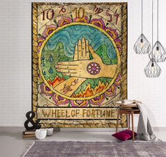 arrival Tapestry Hippie Bedspread Wall Hanging Beach Towel Indian Yoga Mat Home Wall Decor - Slabiti