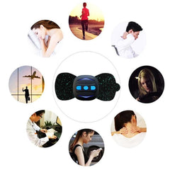 Portable Charging Massager Mini Massage Stickers Neck Stickers Cervical Vertebra Physiotherapy Instrument - Slabiti