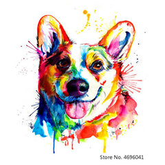 Painting By Numbers Frameworks Coloring By Numbers Home Decor Pictures Animal Dog Decorations RSB8167 - Slabiti