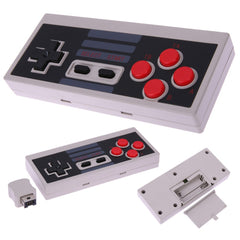 Wireless Controller for Nintendo NES Classic Mini Edition Gaming System Console with 2.4G Wireless Receiver, Portable Gamepad with Strengthenedd Button - Slabiti