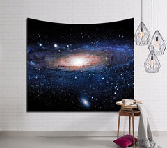 Galaxy Hanging Wall Tapestry Hippie Retro Home Decor Yoga Beach Mat 150x130cm/150x100cm - Slabiti