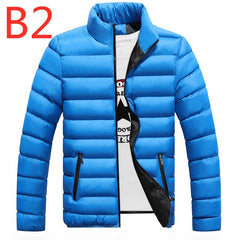 B2 2019 Winter For Men's Jacket Ultralight White Duck down jacket Men's down jackets Outdoor Winter Male casual down jacket Coat - Slabiti