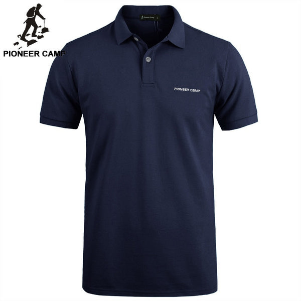 Pioneer Camp Brand Clothing Men Polo Shirt Men - Slabiti