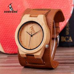 relogio masculino BOBO BIRD Bamboo Men Watch Wooden Timepieces Quartz Watches Personalized Logo Accept Drop Shipping - Slabiti