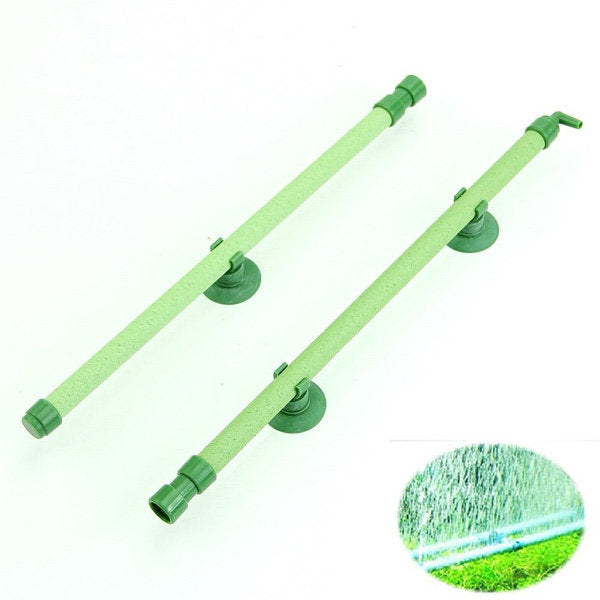 Aquarium Air Stone Bubble Wall Tube  Fish Tank Bubble Wall Green - Slabiti