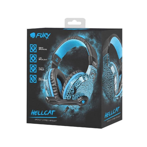 Natec Fury  Hellcat gaming headset