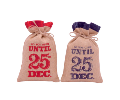 Mini Santa Bags / Sacks