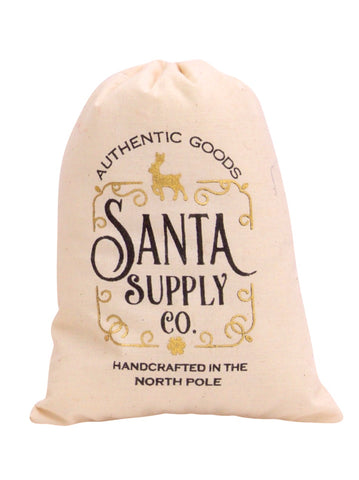 Santa Supply Co Treat/ Cookie Bag