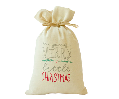 Have Yourself A Merry Little Christmas Mini Gift Bag