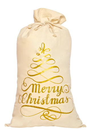 Spiral Christmas Tree Santa Bag/Santa sack