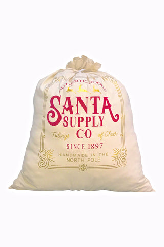 Santa Supply co Large Santa Bag
