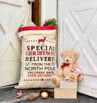 Special Delivery From North Pole Santa Bags/ Sack