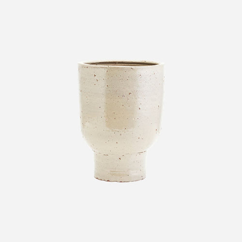 House Doctor Artist Planter in Beige - Small