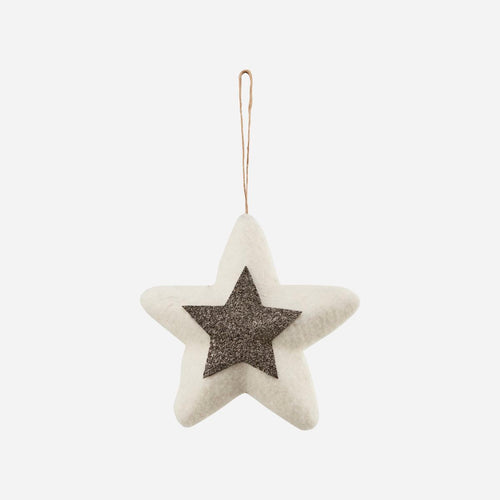 House Doctor Woollen Star Decoration