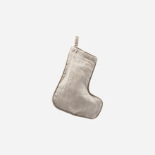 House Doctor Grey Stocking Decoration