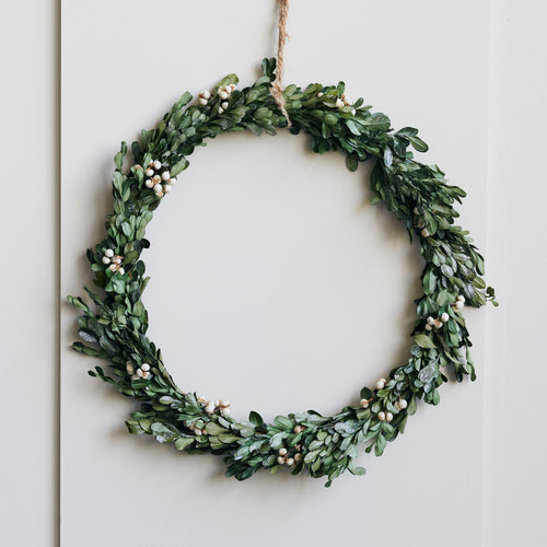 House Doctor Mistletoe Wreath - Large