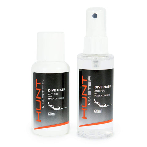 HuntMaster Anti Fog Spray and Mask Cleaner - 60ml