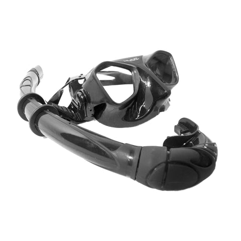 HuntMaster Bat Diving Mask and Snorkel Set (WIRAMBI) - With Complimentary Clear Container