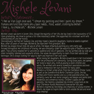 Custom Artwork & Murals - Michele Levani Studio