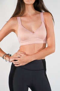 Top Efecto Push Up Rosa