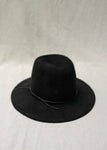 Brookes Boswell Jackson Velour Felt Hat in Black