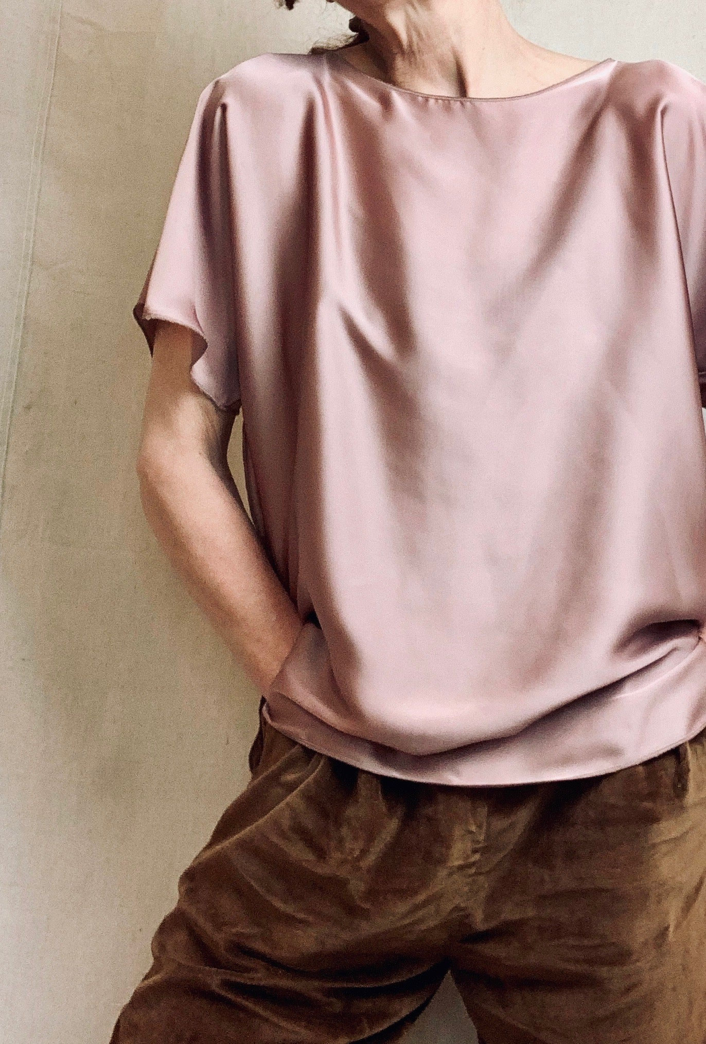 Anderst Jesse Top in Blush