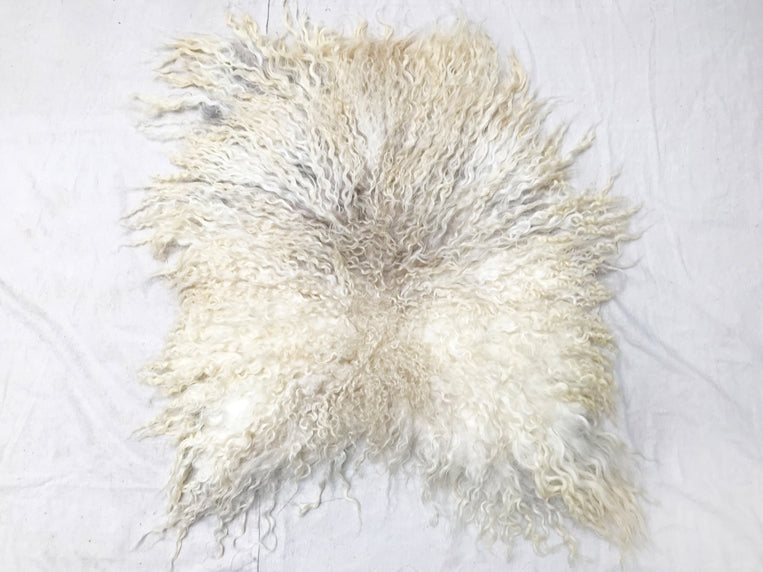 Anderst Racka Sheep Felted Fur Rug