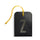 luggage tag DIN black Z