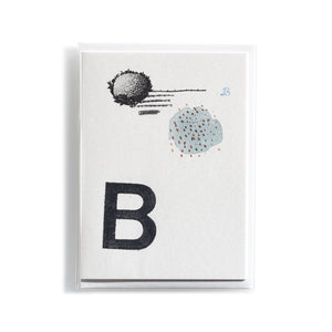 Greeting card Mitte B