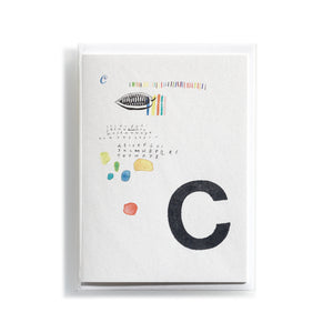 Greeting card Mitte C
