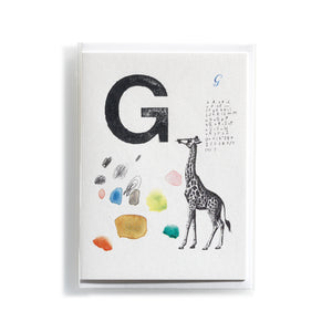 Greeting card Mitte G
