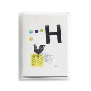 Greeting card Mitte H