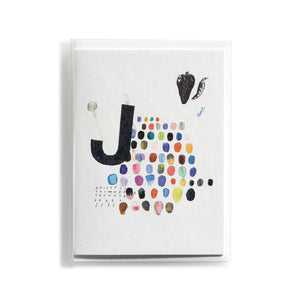 Greeting card Mitte J