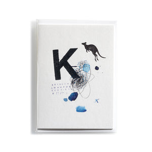 Greeting card Mitte K