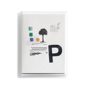 Greeting card Mitte P