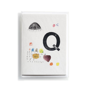 Greeting card Mitte Q