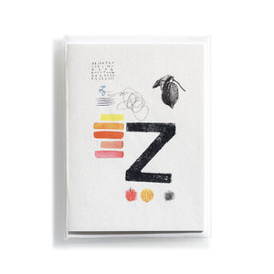 Greeting card Mitte Z