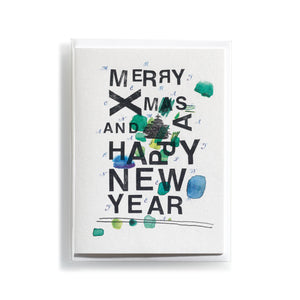 Greeting card Mitte X-MAS