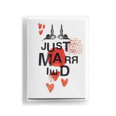 Greeting card Mitte Just Married