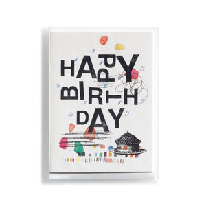 Greeting card Mitte Happy Birthday