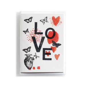Greeting card Mitte Love