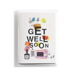 Greeting card Mitte Get well soon