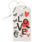 hang tag set Mitte love
