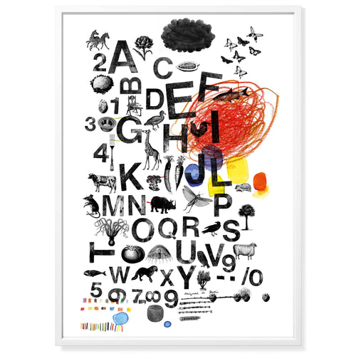 Poster Mitte A-Z & 0-9 II