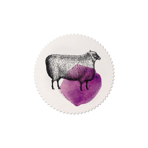 sticker set Mitte sheep