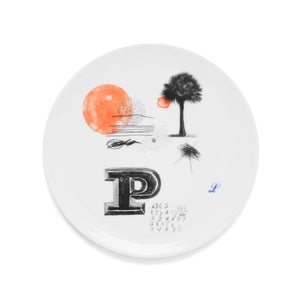Plate, small Mitte Ø15 P