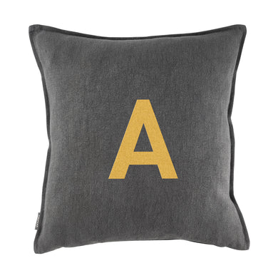 Embroidered cushion cover DIN A