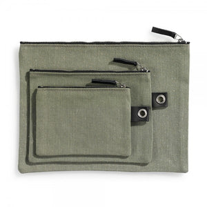 Case large DIN green-black