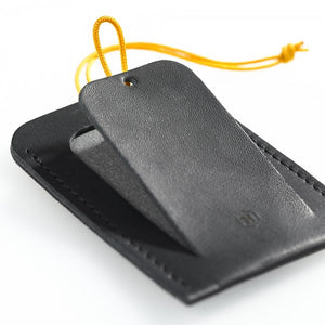 Luggage Tag DIN Black