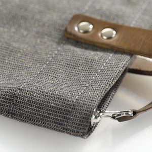 Shopping bag DIN grey-brown